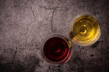 2杯のワイン