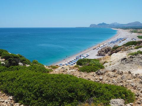 Rhodos - Küstenwanderung vom Traganou Beach