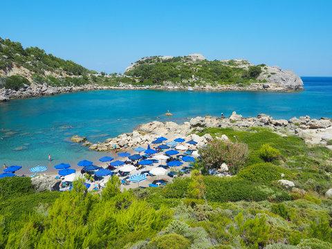 Traumstrand Ladiko Beach - Rhodos