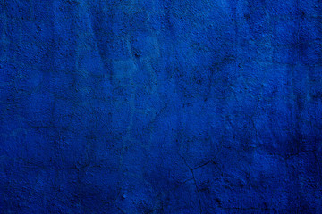 Abstract textured background in blue Fototapete