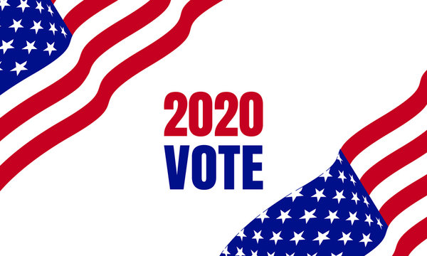 Vote 2020 in United States, election day background