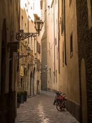 Italia, Toscana, Firenze, un vicolo del centro storico.