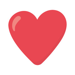 happy valentines day, red heart love romantic icon