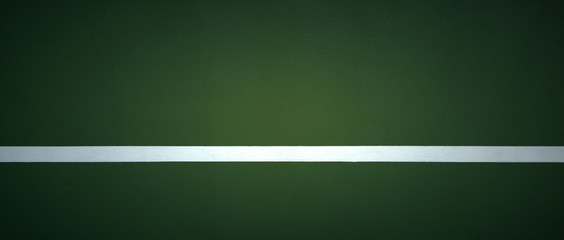 Dark green tennis sports wall pictures.