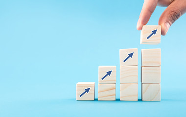 Obraz Business concept growth process. - fototapety do salonu