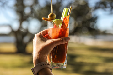 Bloody Mary in Hand -- Party Time