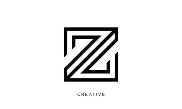 z logo design  icon vector symbol