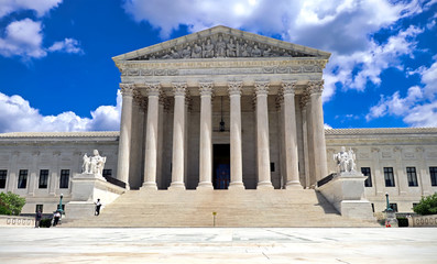 U.S. Supreme Court building in Washington DC