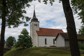 Wall Mural - St. John's Lutheran Church, Jaanikirik in Viljandi,