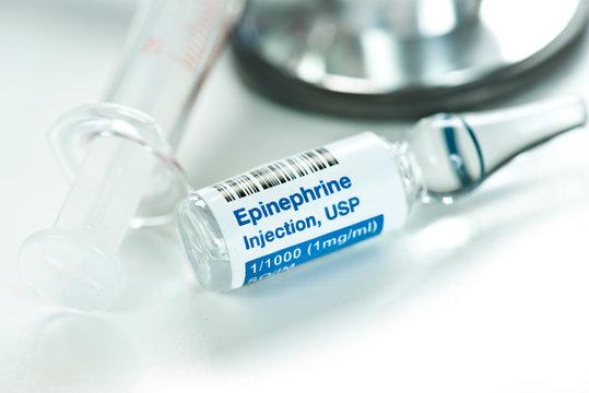Epinephrine Injection Ampule
