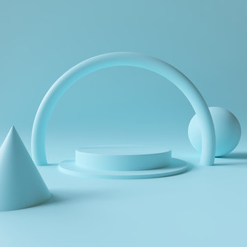 Abstract background 3D render