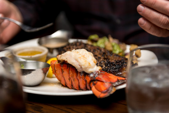 Steak and Seafood Delight