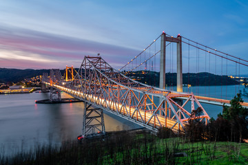 Alfred Zampa Memorial Bridge at Dawn