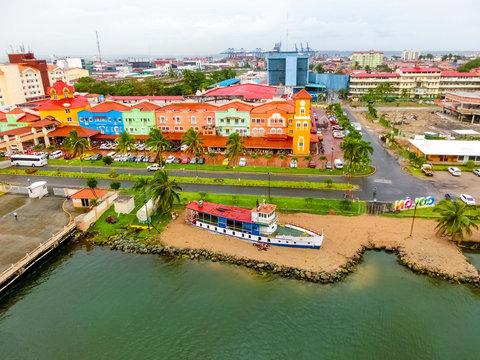 Colon is a sea port on the Caribbean Sea coast of Panama.