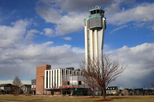 Stapleton tower in Denver, CO