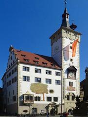 Das Würzburger Rathaus / Germany / Wuerzburg