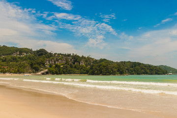 Most beautiful beaches. Patong Beach in Phuket, Thailand.