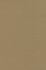 Close up grainy decorative light brown vintage rough sheet of carton. Cardboard paper texture blank...