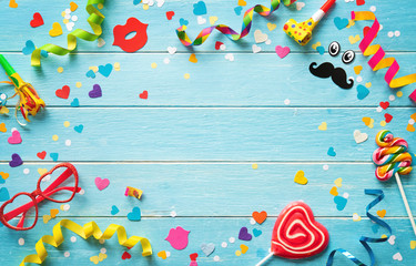 Foto op Canvas Carnaval Carnival, birthday or party background