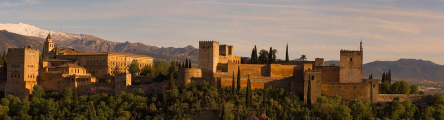 Alhambra palace in Granada, Spain Fototapete