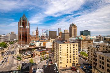 Fotomurales - Milwaukee, Wisconsin, USA Cityscaper