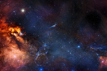 Self adhesive Wall Murals Universe Nebula, galaxy,starfield, in outer space. Infinity universe