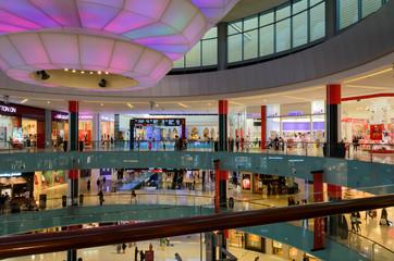 Interior View of Dubai Mall on November 26, 2014 in Dubai, UAE