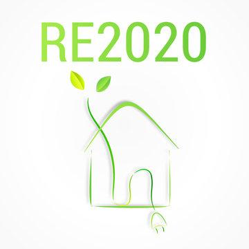 RE2020 réglementation environnementale des bâtiments neufs