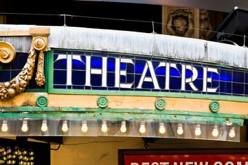 Theatre sign Fotomurales