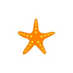 starfish icon black vector sign