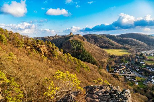 Burg Nideggen und das Rurtal