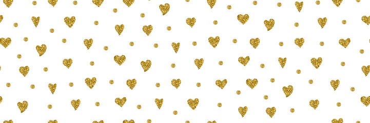 heart seamless pattern love valentine day romantic