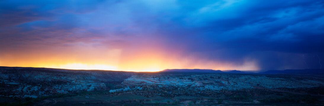 This is sunrise in Southwest Utah.