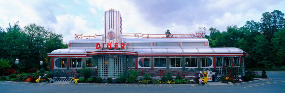 American Diner Restaurant in New York State