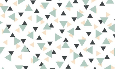 Abstract triangle pattern background