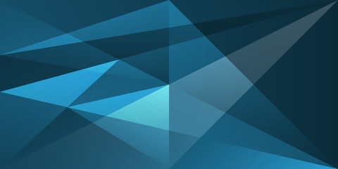 abstract shape background texture overlap transparent blue color Fototapete