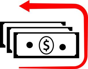 Money Back Dollar Icon