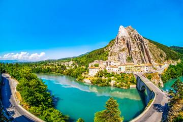 Duranceschleife bei Sisteron