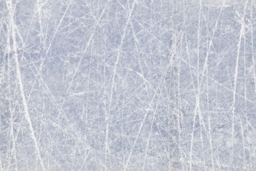 Background image of textured ice on skating rink, copy space