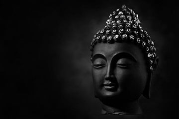 Obraz face of buddha, the pioneer or founder of Buddhism - fototapety do salonu