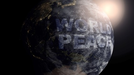 World Peace on Planet Earth