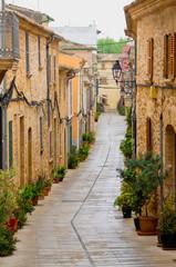 Streets of Acludia, Mallorca, Spain