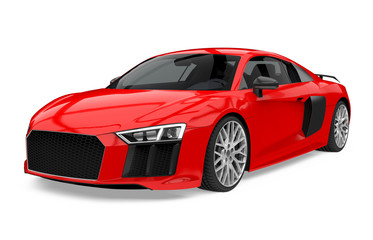 Sport Car Isolated