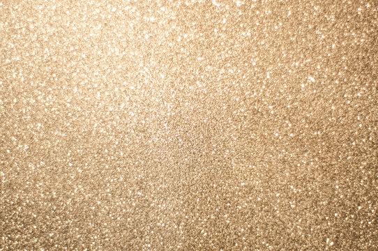 Gold shiny glitter background
