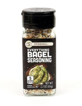 Bottle of Stonemill Bagel Seasoning