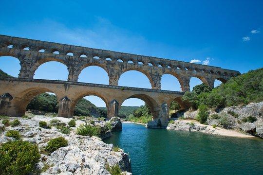 Pont du Gard at South France