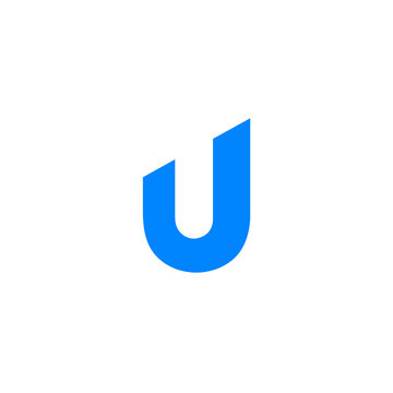 U letter clean icon - VECTOR