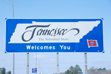 Wall Mural - Welcome to Tennessee Sign
