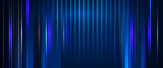 Door stickers Abstract wave Illustration of light ray, stripe line with blue light, speed motion background. Vector design abstract, science, futuristic, energy, modern digital technology concept for wallpaper, banner background