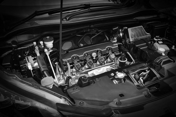 vehicle car power engine technology of fuel and energy Fotomurales